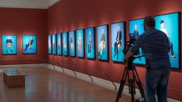 David Hockney « EXHIBITION ON SCREEN (David Bickerstaff)