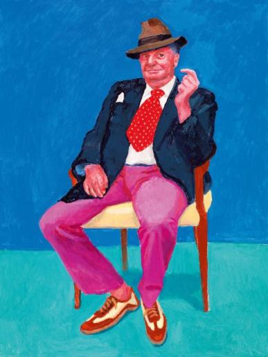 David Hockney - Barry Humphries 26th 27th 28th March 2015